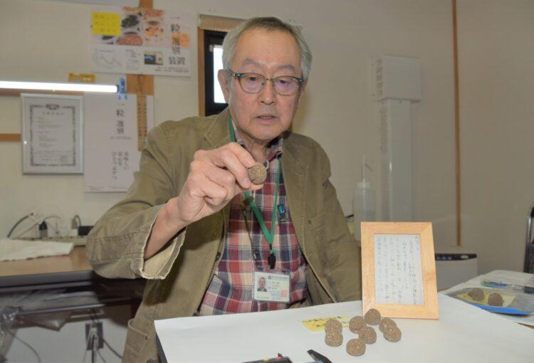 おいしい? まずい? 忍者の携帯食を完全復元 信州大名誉教授・井上さん