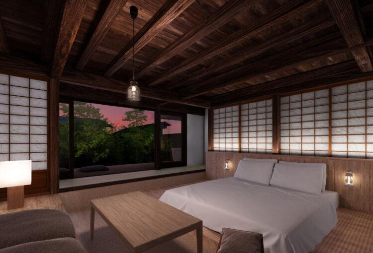 塩尻・奈良井宿の酒蔵改修 宿泊施設など8月オープン
