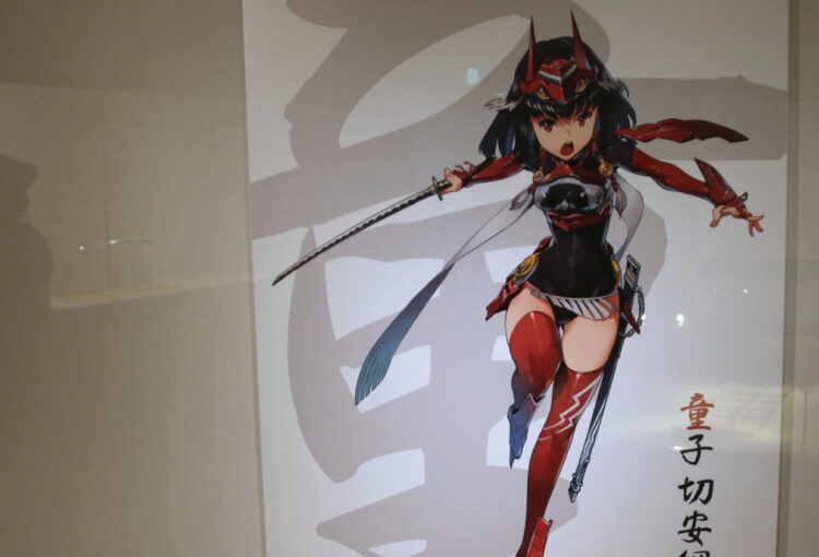 刀特別展 「天華百剣」とコラボで 坂城・鉄の展示館